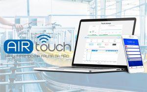 Air Touch® – Ar Comprimido na palma da mão